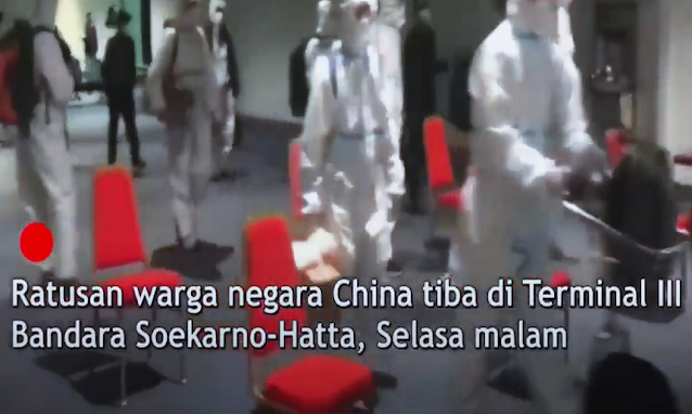 Tak Mau Kecolongan, Warga China Berbondong Masuk Indonesia Sebelum Tahun Baru