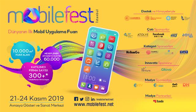 Mobil uygulamanın tüm bileşenleri Mobilefest'te buluşuyor