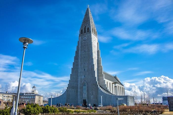 The Church of Hallgrímur (Iceland)