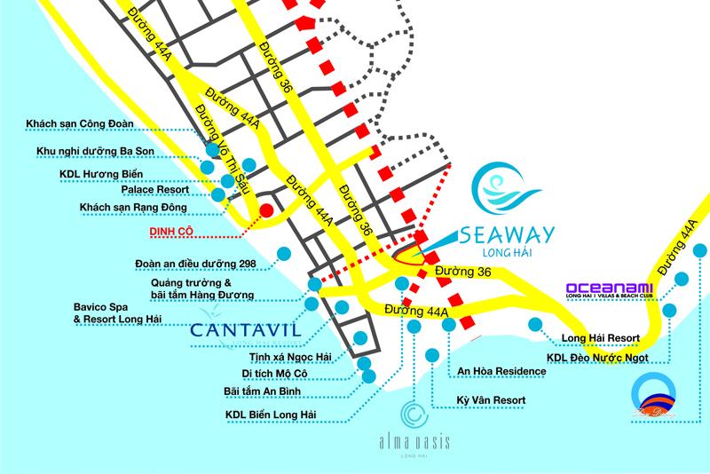Seaway Long Hải Phố Vàng Thương Mại trên cung đường Resort - Ảnh 4