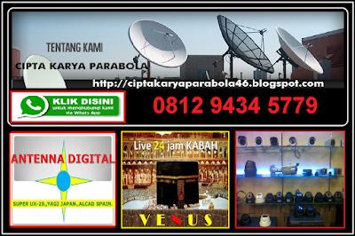TOKO PASANG PARABOLA DIGITAL || TANAH TINGGI ~ JOHAR BARU JAKARTA PUSAT