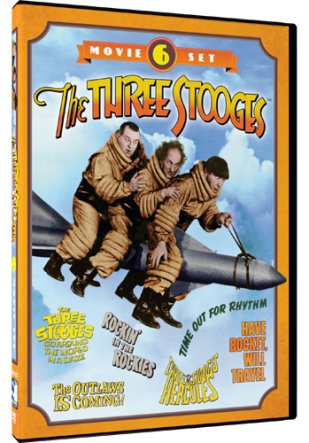 DVD Review - The Three Stooges: 6-Movie Set