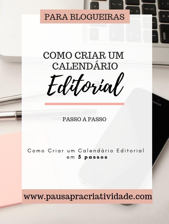 Criando Calendário Editorial para blog em 5 passos