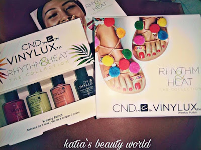 Rhythm & heat summer collection from cnd vinylux!Και φύγαμε σε μέρη τροπικά.... | Katia's beauty world :)