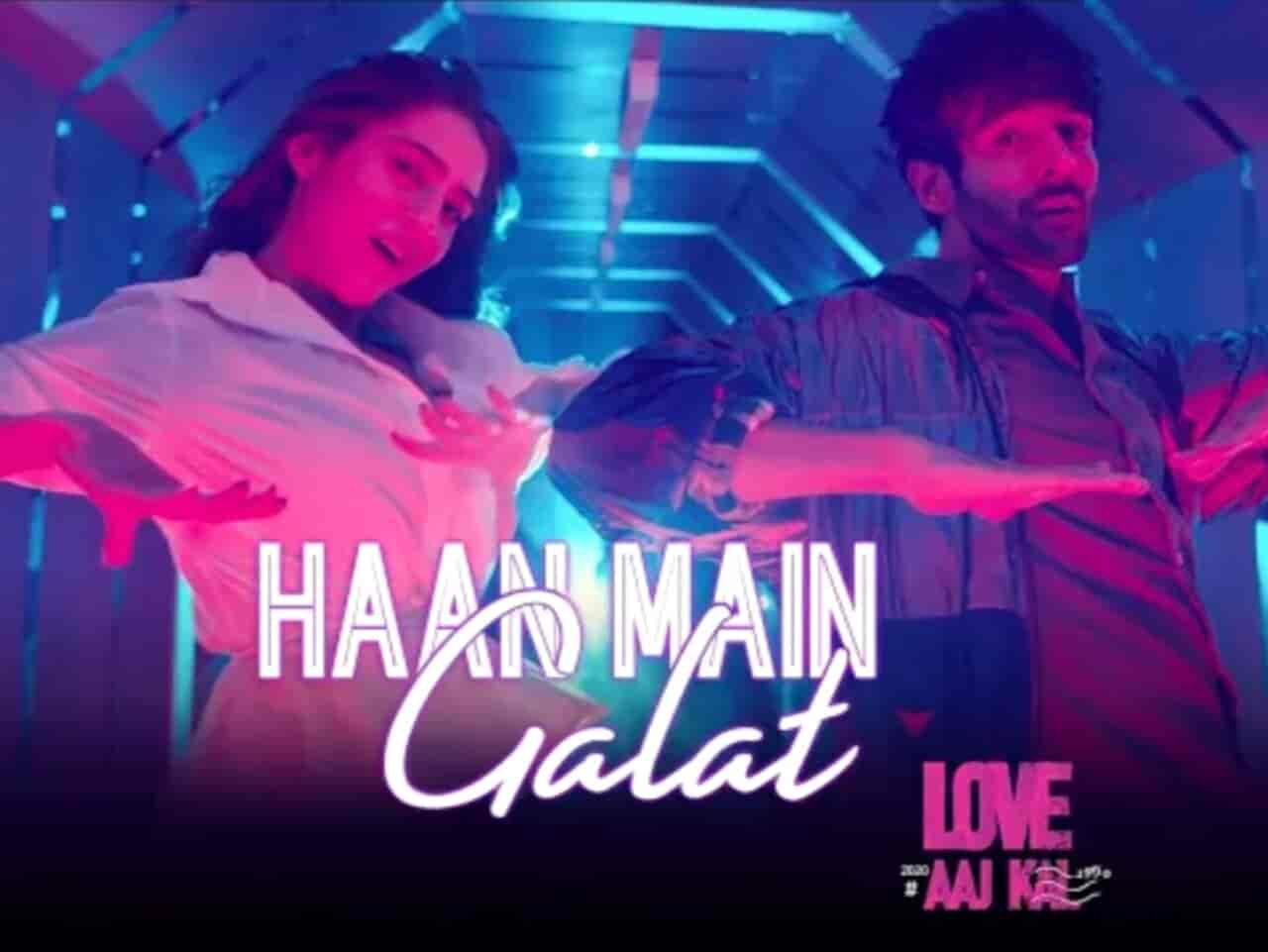 Haan Main Galat Song Images From Movie Love Aaj Kal