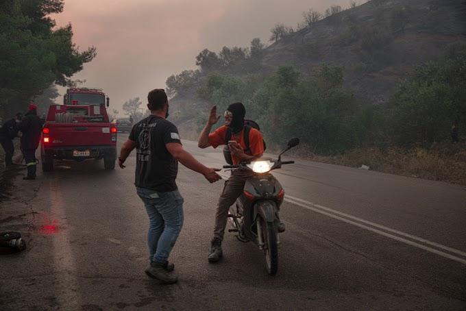 Továbbra is tombolnak az erdőtüzek Görögországban
