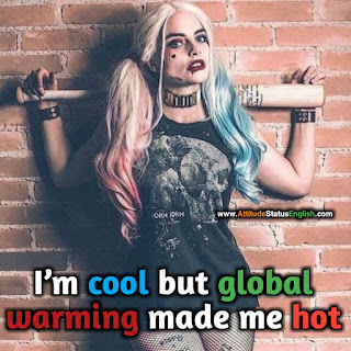 Girl attitude quotes english