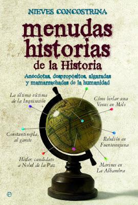 Portada del libro Menudas historias de la Historia de Nieves Concostrina