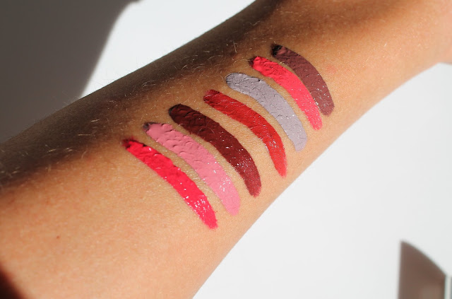 Colourpop Ultra Satin Lips Swatches