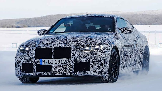 BMW M4 appears in new spy photos Model 2021