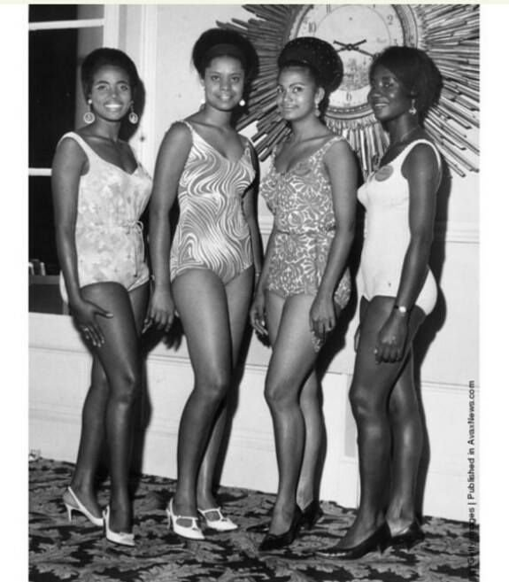African Contestants at Miss world beauty Pageant 1967(pics)