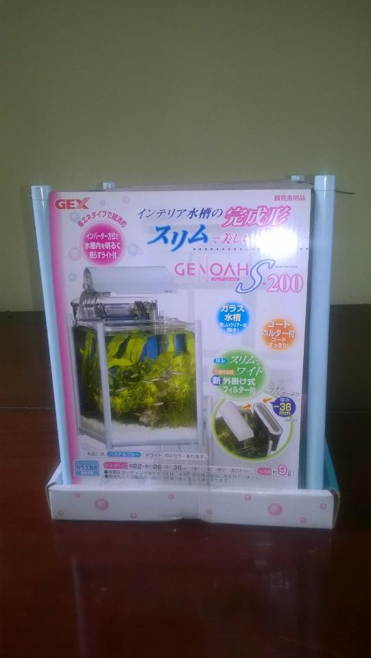 hồ mini để nuôi cá betta của Gex, dễ dàng thêm phụ kiện để trở thành bể thủy sinh mini
