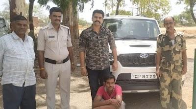 सीहोर पुलिस की बड़ी कार्यवाही: 76665 रू की अवैध शराब सहित स्कार्पियो वाहन किया जप्त | Shivpuri News