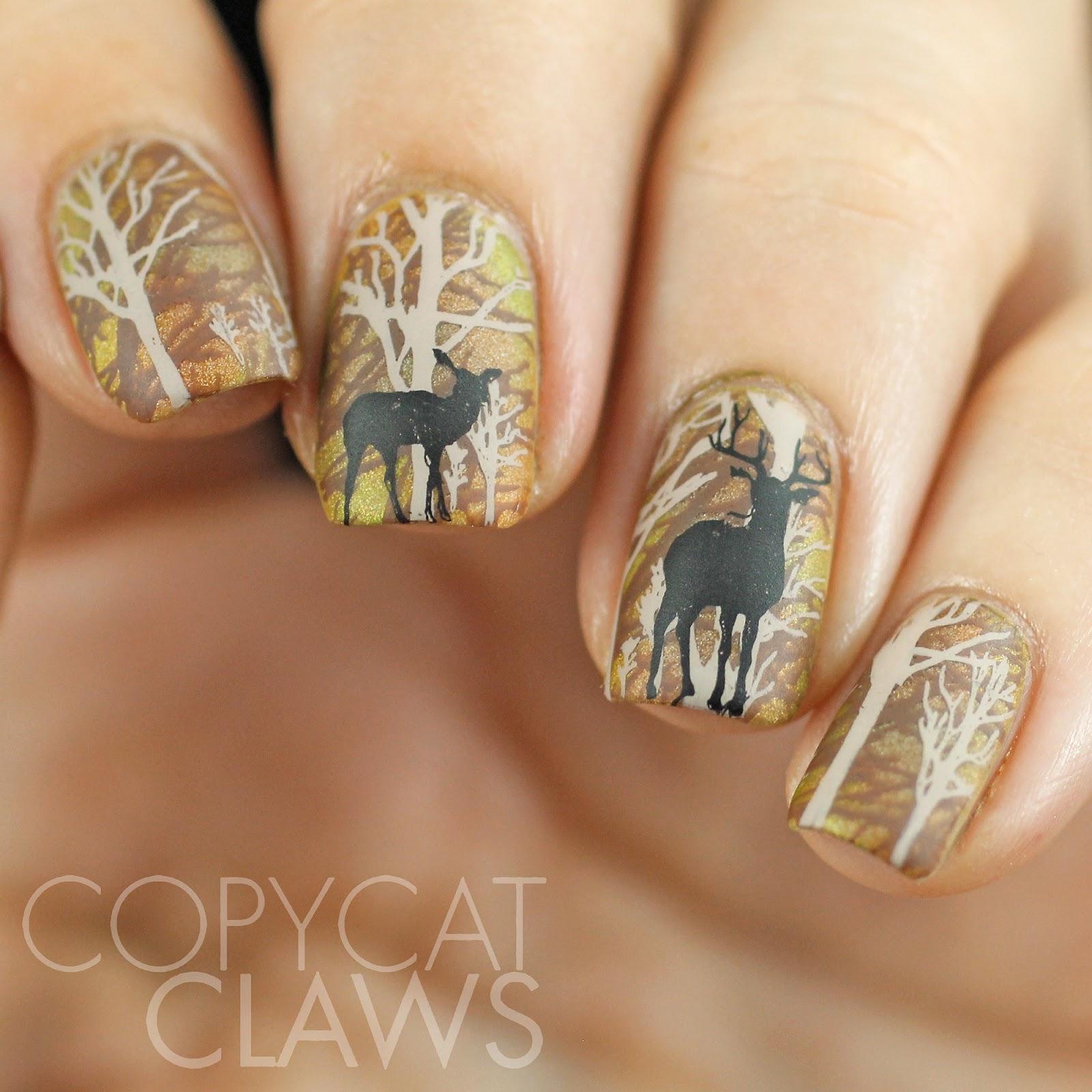 thanksgiving nail polish ideas