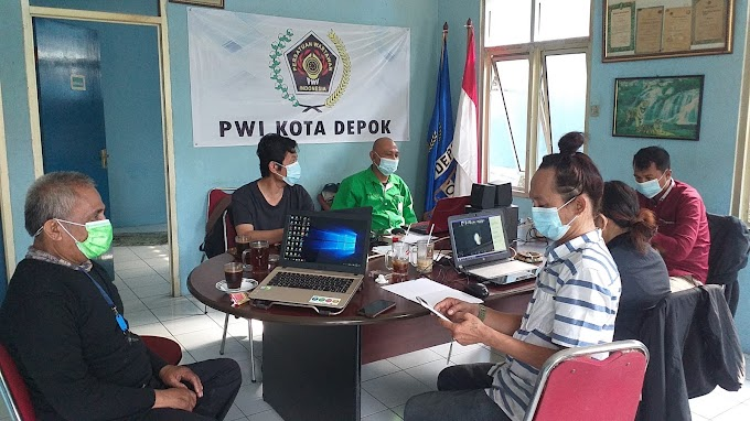 Wartawan Depok Ikuti OKK PWI Jabar Tahun 2021