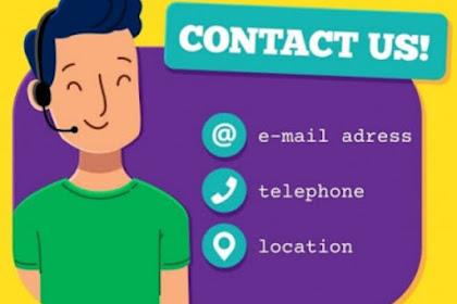 ✓ [UPDATE] Cara Membuat Contact US Keren Di Blog