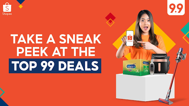 Here's a Sneak Peek at the Top 99 Deals You Can't Miss at Shopee's 9.9 Super Shopping Day