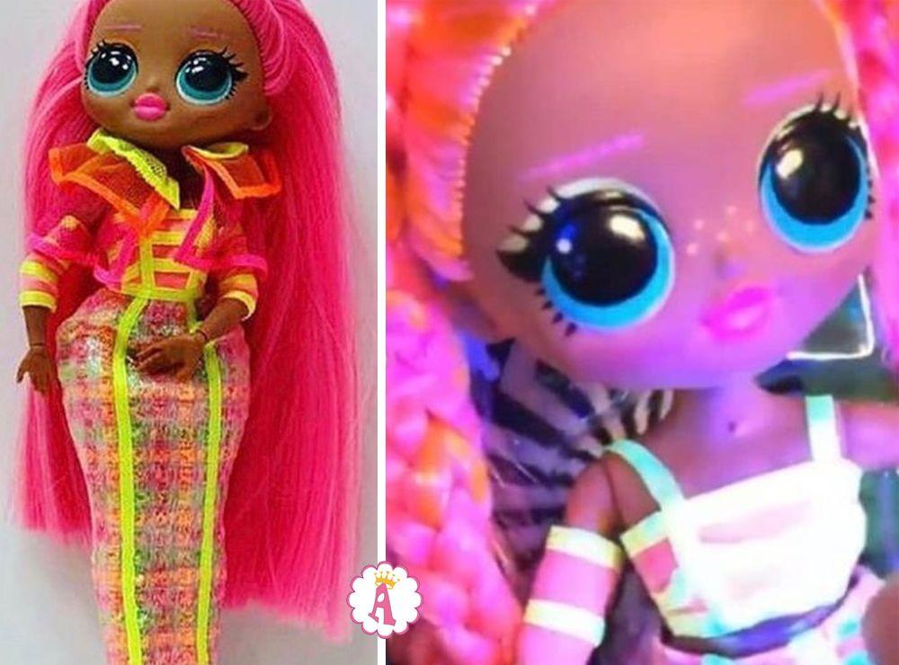 Новая кукла L.O.L. Surprise O.M.G Lights Dazzle светится в ультрафиолете
