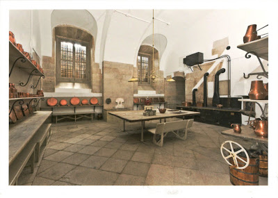 Royal Palace of Madrid - The kitchen of Ramillete