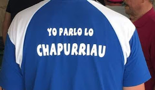 ¿EXISTE LA LENGUA CATALANA?, chapurriau, camiseta