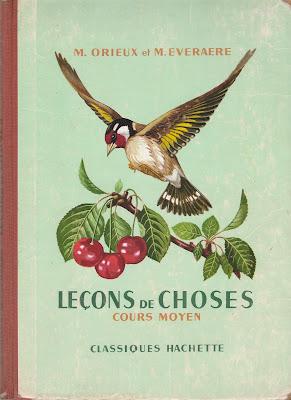 """""""Leçons de Choses"""", Cours Moyen, Librairie Hachette, 1954 (collection musée)"""