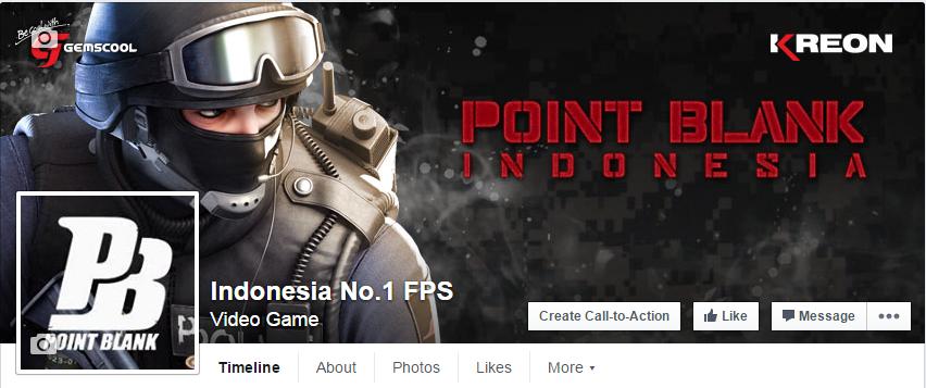 Fanspage Bermasalah, Point Blank Indonesia Rilis Fanspage Baru