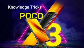 Poco X3 is official with the NFC flower 732G