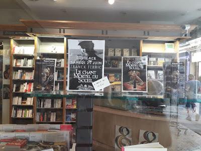 Franck Ferric à la librairie l'Esperluette de Chartres