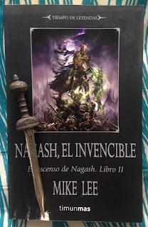 Portada del libro Nagash, el invencible, de Mike Lee