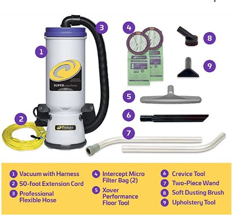Best Commercial – ProTeam Commercial Backpack Vacuum