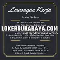 Bursa Kerja Surabaya di Toko Sandal Ilene Mega Oktober 2020