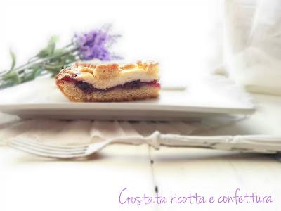senza lattosio-dairy free-marmellata-ricotta-crostata-intolleranze alimentari