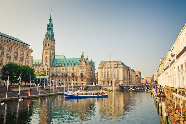 Pontos turísticos em Hamburgo