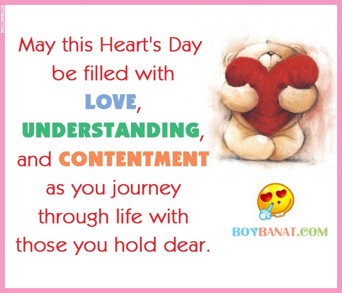 Happy Hearts Day Love Quotes And Sayings Boy Banat