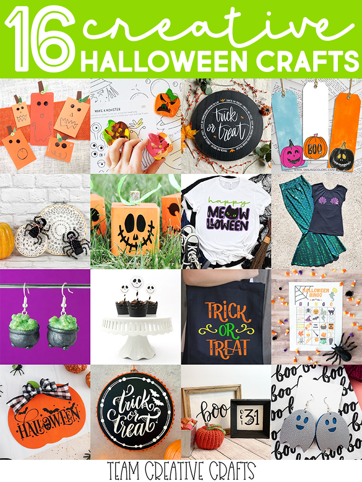 Team Creative Crafts: Halloween Crafts Edition