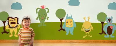 Monsters Mural