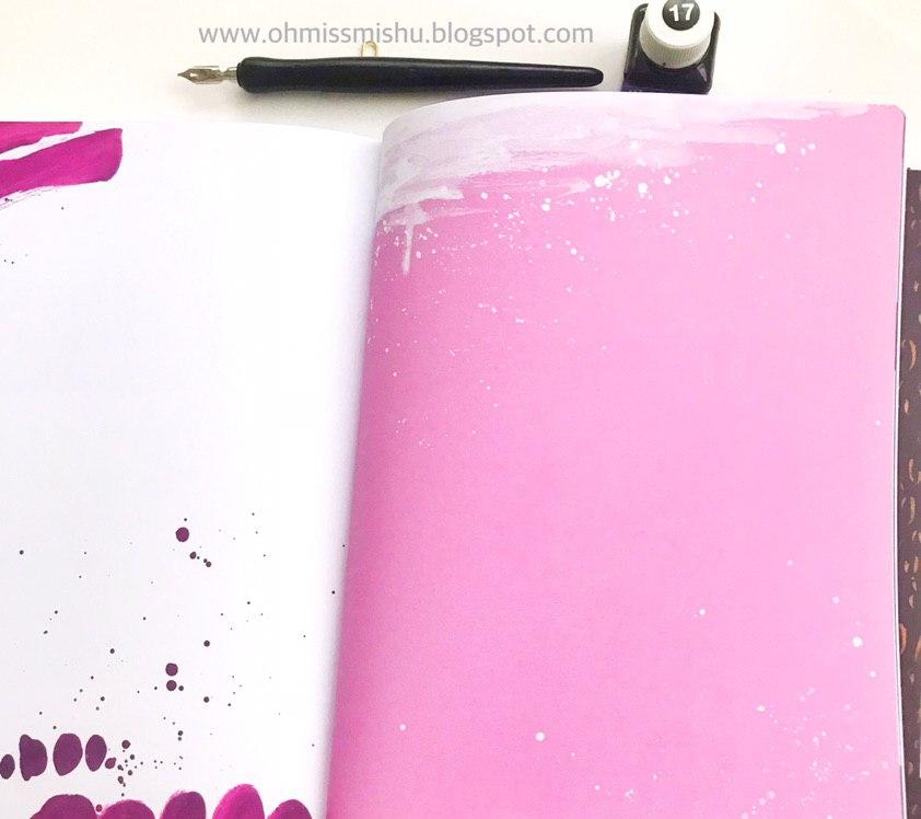 libro de caligrafía moderna con plumilla y florituras paso a paso tintas y acuarelas