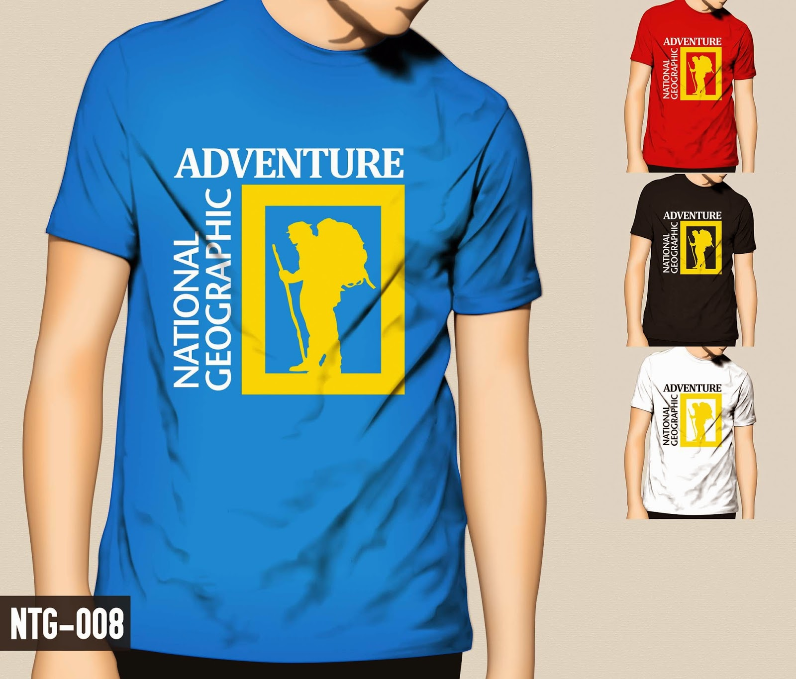 Ntg 008 Adventure Bisnis Distro 100 Tanpa Modal T Shirt National Geographic