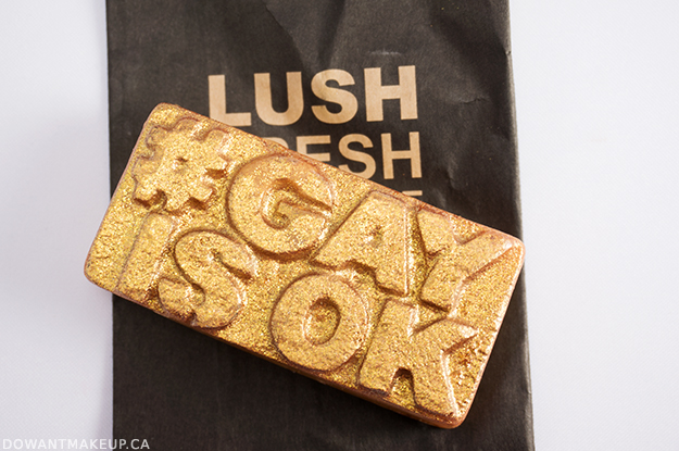 LUSH Love soap #GayisOK