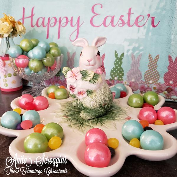 Easter Egg Dish