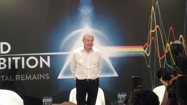 Nick Mason presenta en Madrid 'The Pink Floyd Exhibition'