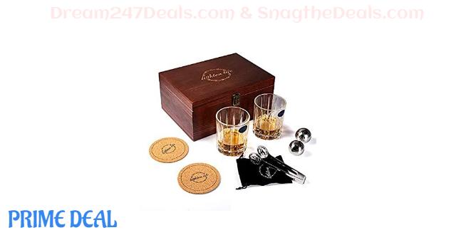 55% OFF Whiskey Stone Gift Set