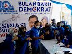 DPC Partai Demokrat Cimahi Siap Bantu Sosialisasikan Vaksinasi