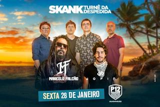 Skank, Marcelo Falcão e Jopin no P12 Guarapari em Janeiro