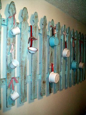 Picket Fence Wall Decor From Junk Market Style