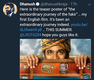 Dhanus first international film