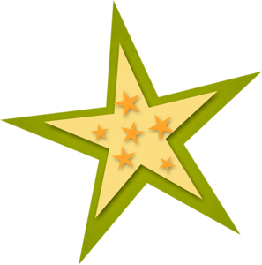 Free Printable Stars with Stars Clipart