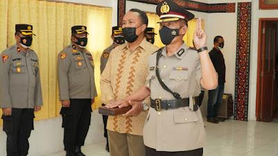 Kapolres Lantik Kompol Marthen Buttu sebagai Wakapolres Toraja Utara