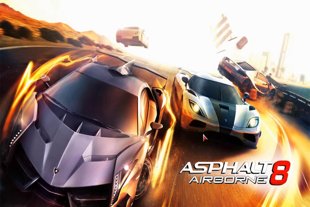 تحميل لعبة اسفلت 8 Asphalt للكمبيوتر مجانا من ميديا فاير
