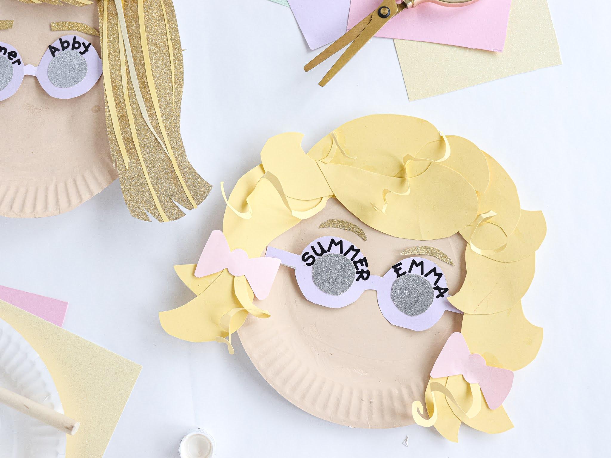 kids summer paper plate craft